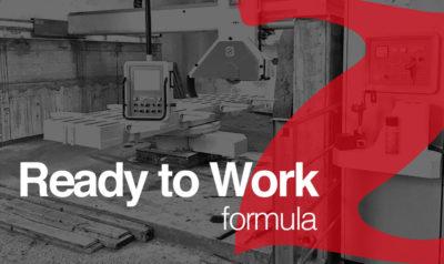 "Used bridge saw ""Ready to Work"" formula"