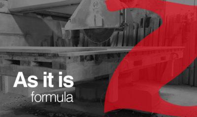 "Used bridge saw ""As It Is"" formula"