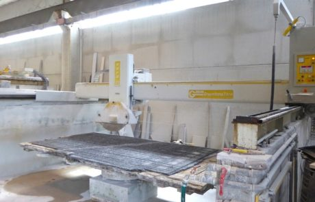Used bridge saw for sale - Gmm Eura 35 - Side View 2