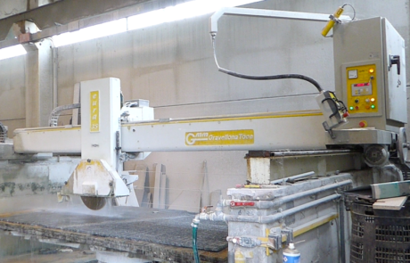 sed bridge saw for sale - Gmm Eura 35 - Side View