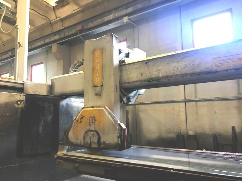 Used bridge saw for sale - Gmm Radia - Automatic tilting head