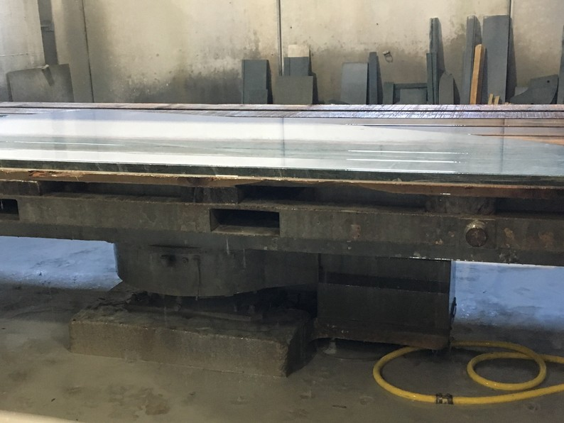 Used bridge saw for sale - Gmm Radia - Automatic turning table