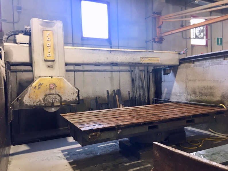 Used bridge saw for sale - Gmm Radia - Front View