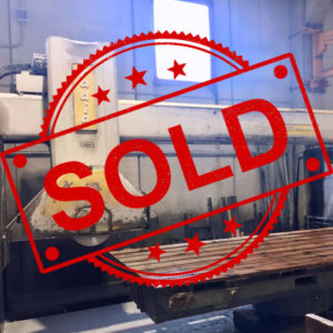 Used bridge saw for sale - Gmm Radia - Preview - SOLD